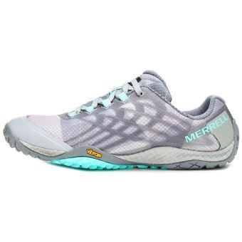 Glove Merrell 4 Femme En Trail Sport Gris High Chaussures De Rise a55qwBxTr
