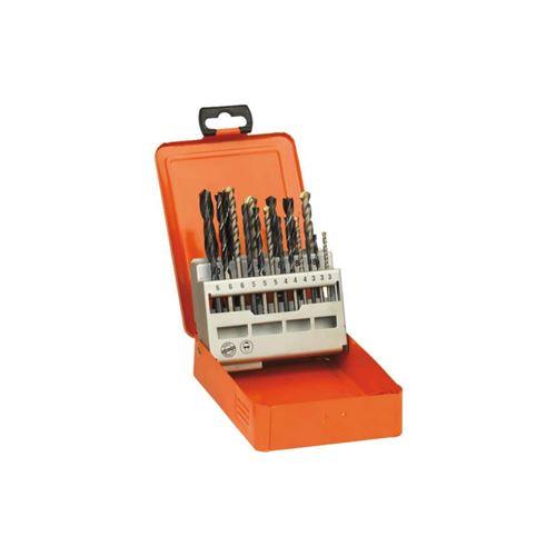 Coffret maxi mix 18 forêts AEG HSS bois métal béton 4932352463