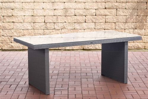 Table de Jardin Avignon , Gris/180 cm