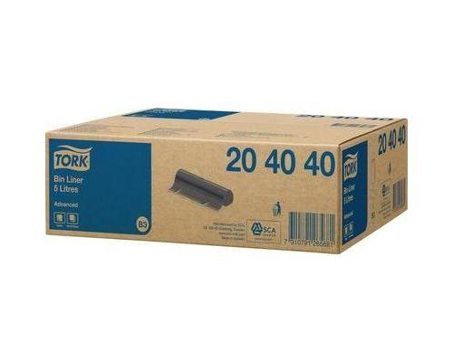 Sac poubelle 5 l tork advanced noir 204040