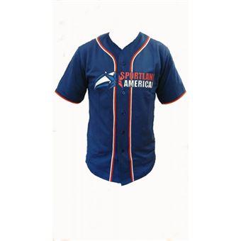 Maillot de Baseball Sportland American Taille L Hauts, T