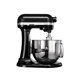 KitchenAid Artisan 5KSM7580XEOB Bowl-Lift - robot pâtissier - 500 Watt - noir onyx