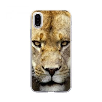 coque iphone x lionne