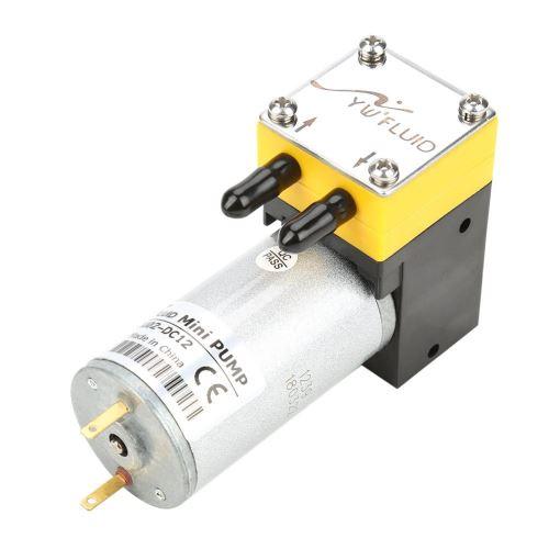 Pompe à eau auto-amorçante à vide à micro-diaphragme à moteur à courant continu 12V 0.4-1L / min