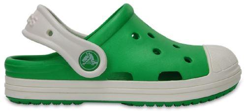 Crocs bump it clog enfants clogs <strong>chaussures</strong> sandales en parrot vert oyster 202282 31q