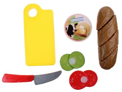 Home and Kitchen service de vaisselle baguette 6 pièces