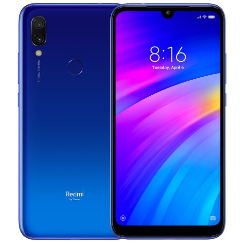 Smartphone Xiaomi Redmi 7 Double SIM 3Go/32Go 6.26-Version Internationale-Bleu