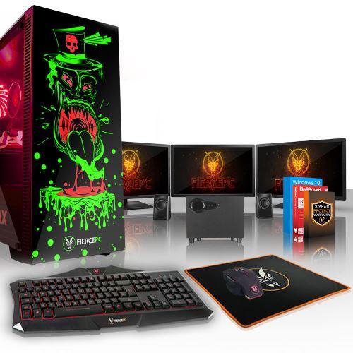 Fierce tickler pc gamer intel core i5 7600k 3.8ghz 120go ssd 2to disque dur 8go de ram ddr4 2133mhz nvidia geforce gtx 1070 8go usb 3.0 wi fi