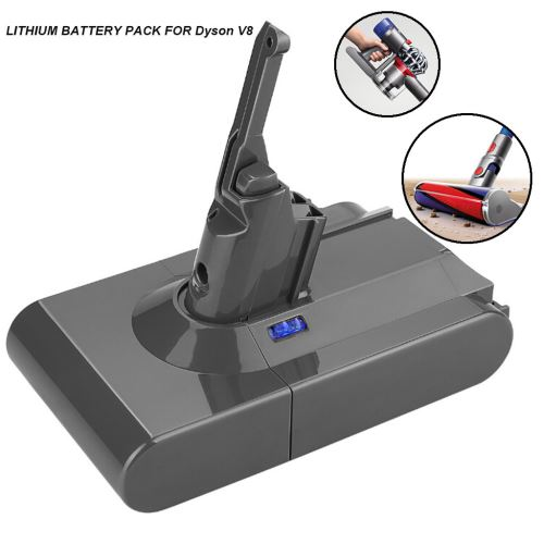 4000mAh 21.6V Batterie pour Dyson V8 Batterie Absolute V8 Aspirateur animaux wedazano162