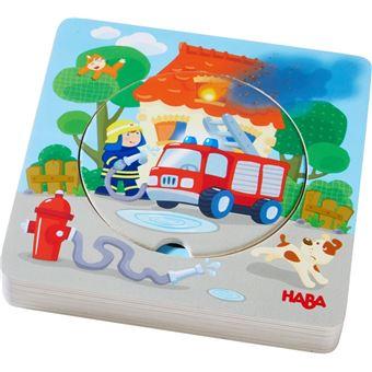 Haba - Puzzel - Brandweeractie - Hout - 5st.