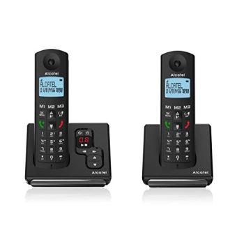 5 sur t l phone fixe sans fil alcatel f690 voice duo. Black Bedroom Furniture Sets. Home Design Ideas