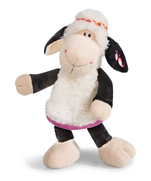 NICI 41308 Jolly Mäh Yoga Doudou Mouton Malou, 35 cm