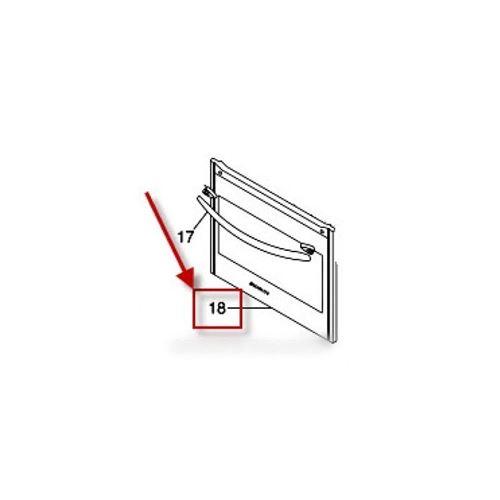 Vire exterieure de porte an pour cuisiniere scholtes - c00132856
