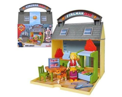 Pompier Sam Café de morue - Taille Emballage: 7 x 16 x 20 cm - Matériau: plastique - Convient aux enfants à partir de 3 ans!