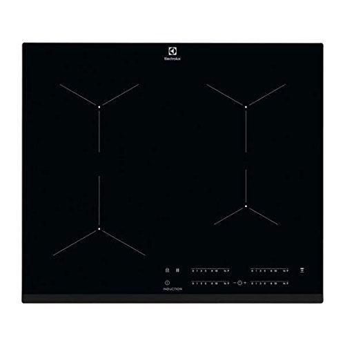 Electrolux EIT61443B - Table de cuisson à induction - 4 plaques de cuisson - Niche - largeur : 56 cm - profondeur : 49 cm - noir - avec avant biseauté