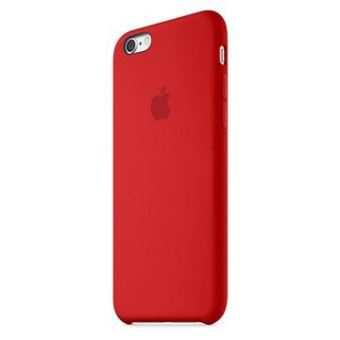 coque iphone 6 silicone rouge apple