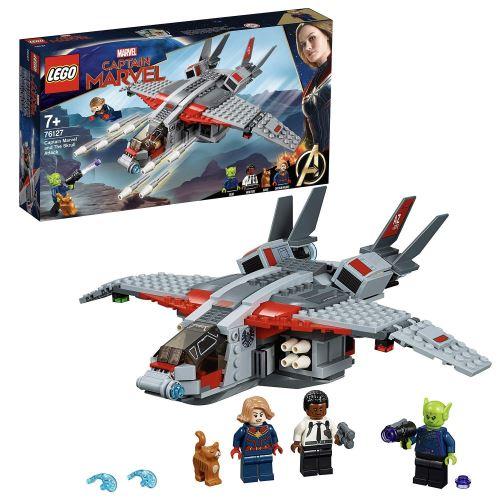 Lego 76127 Marvel Super Heroes - Captain Marvel et l'attaque du Skrull