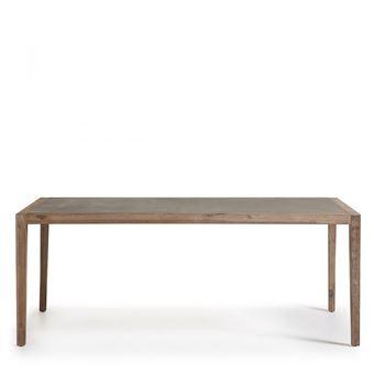 Table à manger indoor/outdoor en bois et superstone Vetter ...