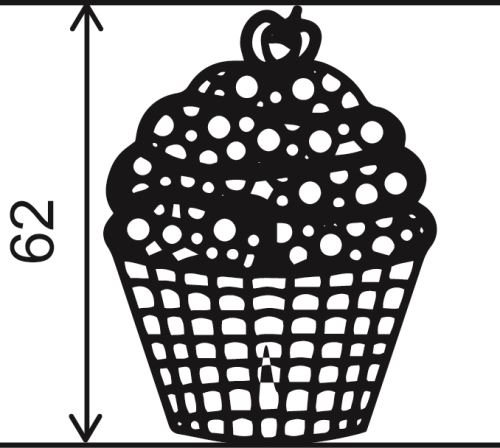 Mallard ferrière bande silicone 40 x 8 cm cup cake
