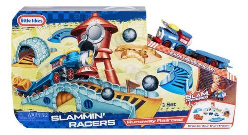 Little Tikes Slammin' Racers Runaway Railroad