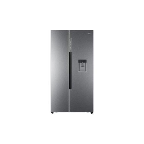 Haier Hrf-522ig6 - Refrigerateur Americain - 500 L 331 L + 169 L - Total No Frost - A+ - L 90,8 X H 179 Cm - Silver