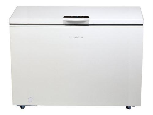 Schneider SCCFD446W+ - Congélateur coffre - pose libre - largeur : 153.5 cm - profondeur : 74 cm - hauteur : 82.5 cm - 433 litres - classe A+ - blanc