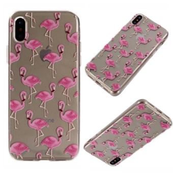 coque pour iphone x flamingo