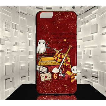 Coque rigide pour iPhone 6 6S HARRY POTTER GRYFFONDOR ART DESIGN 02