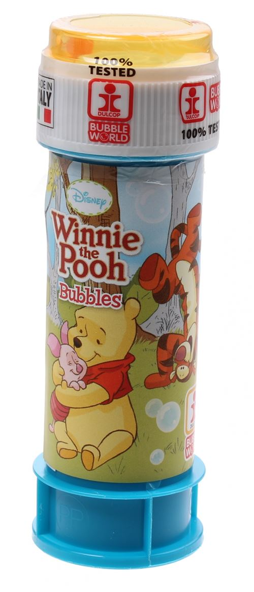 Disney Bulles Winnie l'Ourson 60 ml jaune