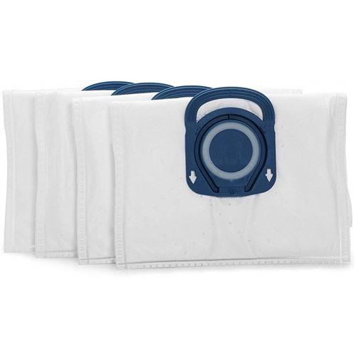 Lot de 4 sacs a poussiere haute filtration hygiene + pour aspirateurs traineaux rowenta ref. : zr200520 - gog656132