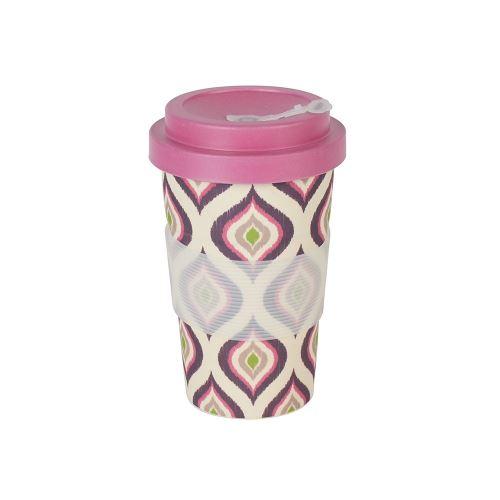 Mug en fibre de bambou : BAMBOO CUP - Prune