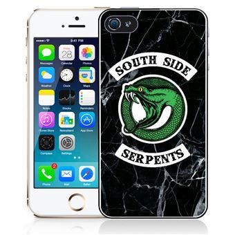 Coque pour iPhone 5 5S riverdale south side serpent marbre