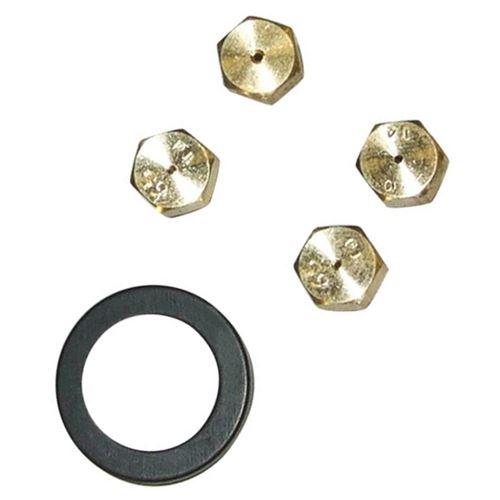 Kit injecteurs butane / propane (62345-16734) Four, cuisinière 481231038459 WHIRLPOOL - 62345_3662894688107