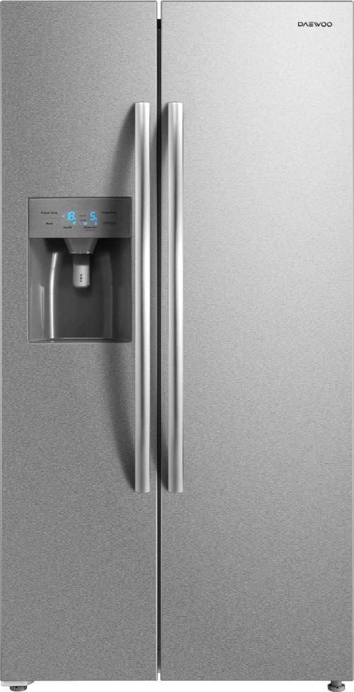 Réfrigérateur américain 90cm 504l a+ nofrost inox - FRNM570D2X - DAEWOO