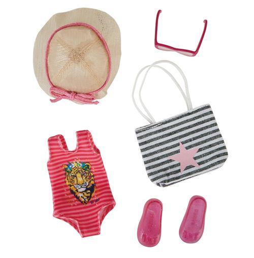 Käthe Kruse Ensemble 5 pièces de vêtements pour poupées adolescentes