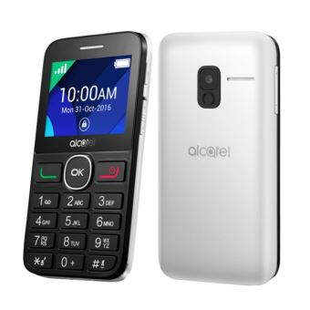 Fonkelnieuw Alcatel One Touch 20.08G - Téléphone mobile - microSDHC slot - GSM FF-94