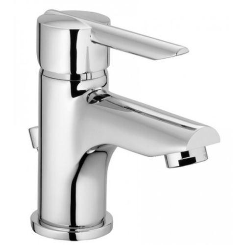Robinet Mitigeur de lavabo chromé Design Butée economie d'eau