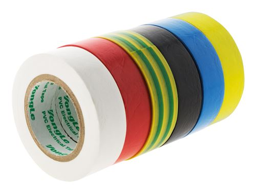 Lot de 6 rouleaux adhésifs 15mm x 10m - Zenitech