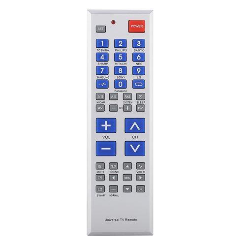 Télécommande Universelle de TV avec Gros Boutons