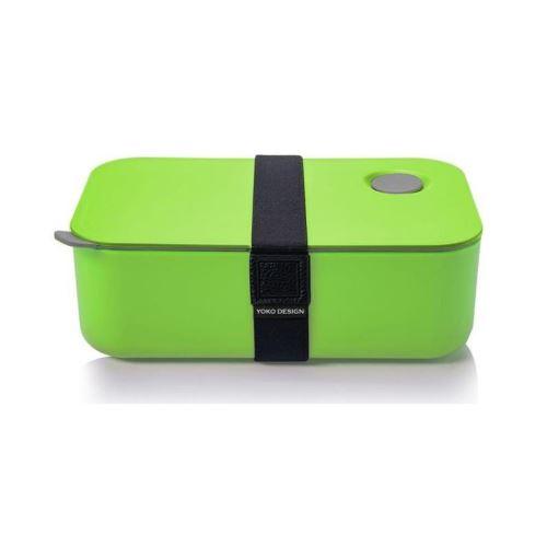 YOKO DESIGN Lunch Box avec séparation réglable et amovible 1 L vert