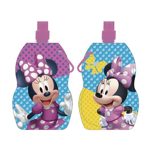 Disney gobelet scolaire pliable Minnie Mousefilles 500 ml rose