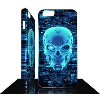 Coque Iphone 8 8 PLUS COLLECTION DESIGN SKULL TETE DE MORT 019