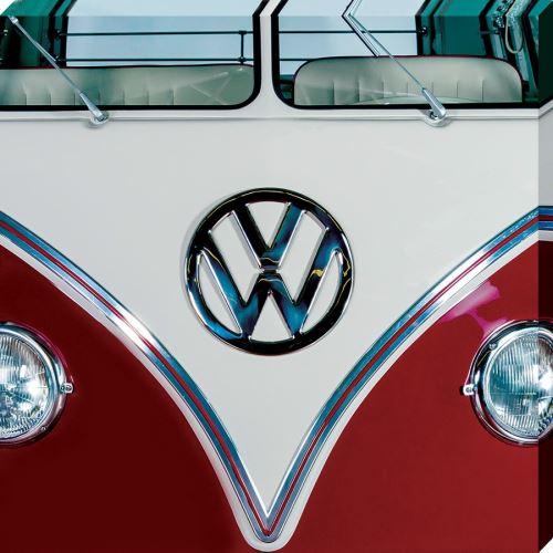 Imprimée VW Red 40 x 40 cm
