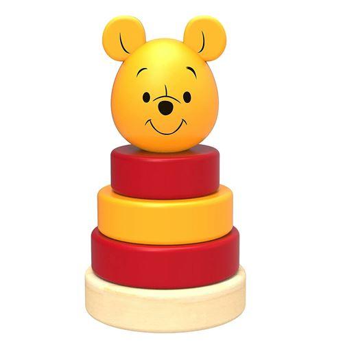 Jouet en bois : Pyramide à empiler Disney Winnie l'ourson