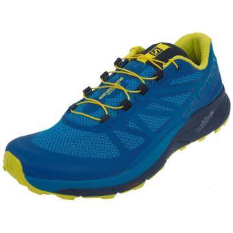 Chaussures running trail salomon sense ride blue trail 45368