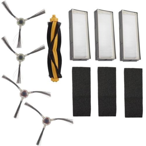 Filtres Jeu de brosses de nettoyage pour aspirateur DEEBOT M80 Pro M81 M85 M88 R95 R96 R98 ECOVACS