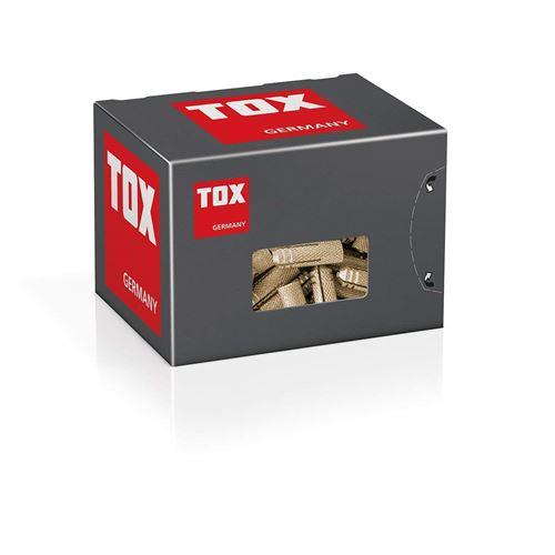 25 pi/èces TOX cheville /à expansion laiton Metrix M8 x 28 mm 026100141