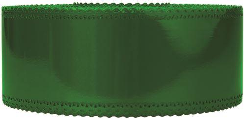 Ruban charlotte dentelle vert