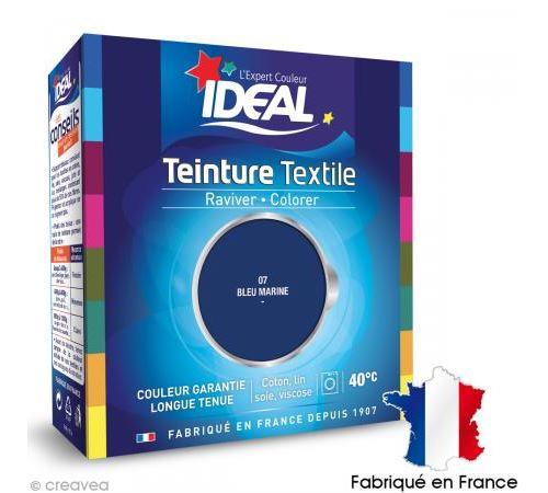 Teinture Tissu Idéal liquide Bleu marine 07 maxi