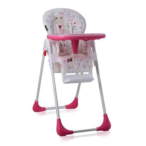 TUTTI Lorelli Rose Chaise haute pour bébé FRUTTI ARL3qj45